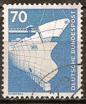 Stamps Germany -  Industria y Tecnología(Construcción naval).