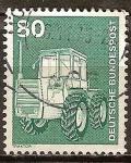 Sellos de Europa - Alemania -  Industria y Tecnología(Tractor ( Massey Ferguson MF 1200).