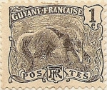 Stamps Guyana -  Guyane Française