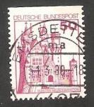 Stamps Germany -  764 Ab - Neuschwanstein