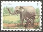 Stamps : Asia : Vietnam :  Elefante de Asia