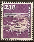 Sellos de Europa - Alemania -  Industria y Tecnología(Aeropuerto de Frankfurt).