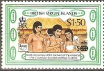 Stamps America - Virgin Islands -  SOCIEDADES  PRE-COLOMBINAS  Y  SUS  COSTUMBRES.  FAMILIA  ARAWAK.