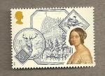Stamps United Kingdom -  Reinas