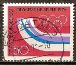 Sellos de Europa - Alemania -  Juegos Olímpicos de Invierno de 1976 en Innsbruck.