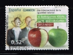"Stamps of the world : Spain :  Edifil  4777  Valores Cívicos.  ""  Día Internacional de la igualdad salarial. """