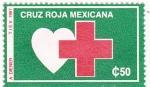 Stamps Mexico -  CRUZ ROJA MEXICANA