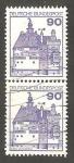 Sellos de Europa - Alemania -   835 - Castillo de Vischerinh