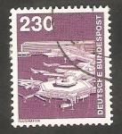 Stamps Germany -  854 - Aeropuerto de Frankfurt