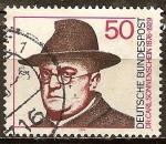 Sellos de Europa - Alemania -  Cumpleaños Centenario del Dr. Carl Sonnenschein (clérigo).