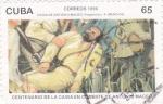 Stamps Cuba -  CENTENARIO DE LA CAÍDA EN COMBATE DE ANTONIO MACEO