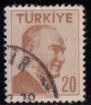 Sellos del Mundo : Asia : Turquía : Ataturk