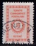 Sellos de Asia - Turquía -  Cifra
