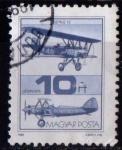 Sellos de Europa - Hungría -  Aviones