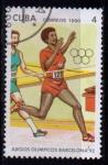 Sellos del Mundo : America : Cuba : Olimpiadas Barcelona 92