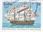 Stamps Cuba -  EXPOSICIÓN FILATÉLICA MUNDIAL