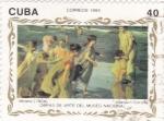 Sellos de America - Cuba -  OBRAS DE ARTE DEL MUSEO NACIONAL (J.Sorolla)