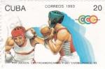 Stamps Cuba -  XVII JUEGOS CENTROAMERICANOS Y DEL CARIBE PONCE 93