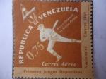 Sellos de America - Venezuela -  Primeros Juegos Deportivos Nacionales-Caracas 1961 - Hacer Deporte es Hacer Patria