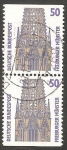 Stamps Germany -  1167 b - Catedral de Freiburger