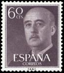 Sellos de Europa - España -  ESPAÑA SEGUNDO CENTENARIO Nº 1150 ** 60C CASTAÑO GRISACEO