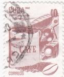 Sellos de America - Cuba -  CAFE- EXPORTACIONES CUBANAS