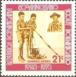 Stamps Dominican Republic -  50th  BOYS  SCOUTS.  JÒVENES  EXPLORADORES  Y  SIR  BADEN  POWELL