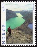 Stamps Norway -  NORUEGA - Fiordos del oeste de Noruega – Geirangerfjord y Nærøyfjord