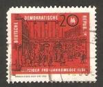 Sellos del Mundo : Europa : Alemania : 716 - Feria de Leipzig