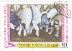 Stamps Mongolia -  REBAÑO
