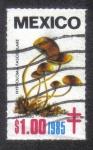 Stamps Mexico -  Hongos
