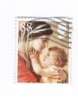 Sellos de Europa - Reino Unido -  Virgen María con el Niño