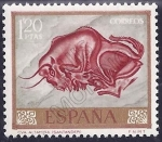 Stamps of the world : Spain :  Altamira (Ed. 1782)