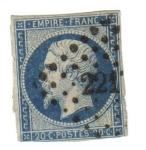 Stamps France -  Napoleón III. Segundo Imperio