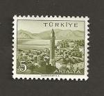 Stamps Turkey -  Antalya