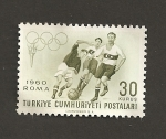 Sellos de Asia - Turquía -  Olimpiadas Roma 1960