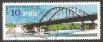 Stamps Germany -  1839 - Puente sobre el lago Templin