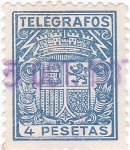 Stamps Spain -  TELEGRAFOS (14)