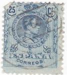 Sellos de Europa - España -  ALFONSO XIII- TIPO MEDALLÓN (14)