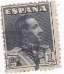 Stamps Spain -  ALFONSO XIII   (14)