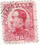 Stamps : Europe : Spain :  ALFONSO XIII -tipo vaquer  (14)