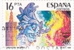 Stamps Spain -  LAS FALLAS DE VALENCIA (14)