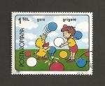 Sellos de Europa - Rumania -  Juegos de Grigore