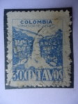 Stamps Colombia -  Salto del Tequendama