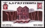 Stamps Ethiopia -  ETIOPÍA - - Iglesias talladas en la roca de Lalibela