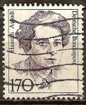 Sellos de Europa - Alemania -  Hannah Arendt (sociólogo).