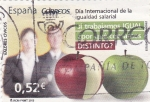 Stamps : Europe : Spain :  DÍA INTERNACIONAL DE LA IGUALDAD SALARIAL (14)