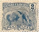 Sellos de Africa - Guyana -  Guyane Française