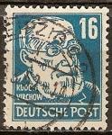 Sellos del Mundo : Europa : Alemania : Rudolf Virchow (Médico y político).