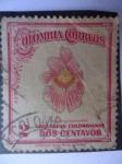 Stamps Colombia -  Orquídeas Colombianas - Miltoni Vexillaria